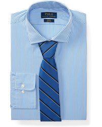 Polo Ralph Lauren - Slim Fit Striped Poplin Shirt - Lyst