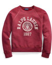 Polo Ralph Lauren - Collegiate Fleece Pullover - Lyst