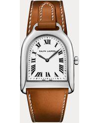 Ralph Lauren Small Steel Watch - Brown