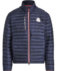 Ralph Lauren - Men's Usa Ryder Cup Camouflage-print Quilted Down Jacket - Lyst