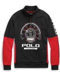 Polo Ralph Lauren Fleece-Sweatshirt mit Tunnelkragen - Mehrfarbig