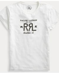 RRL Logo Crewneck Tee - Multicolour