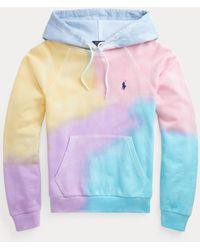 Polo Ralph Lauren Sweat à capuche tie-dye en coton - Multicolore