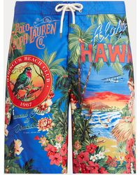 Polo Ralph Lauren Bañador Bermuda De 21,6 Cm Kailua - Azul