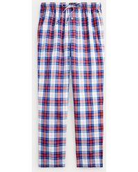 Polo Ralph Lauren Pantalón De Pijama De Cuadros - Azul