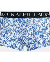 Polo Ralph Lauren Calzoncillos Bóxer De Algodón Elástico - Azul