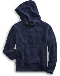 RRL - Waffle-knit Cashmere Hoodie - Lyst