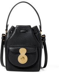 Pink Pony - Leather Micro Ricky Drawstring - Lyst
