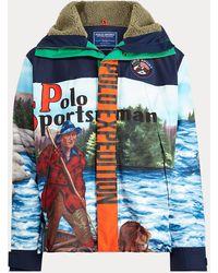 Ralph Lauren Anorak Polo Sport - Blau