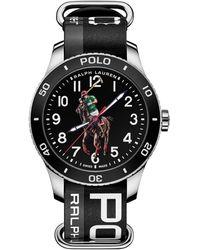Polo Ralph Lauren Polo Watch Black Dial