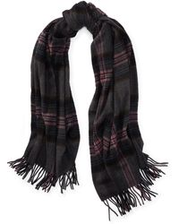Polo Ralph Lauren | Oversize Plaid Blanket Scarf | Lyst