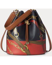 Ralph Lauren Grand sac seau Andie à motif - Multicolore