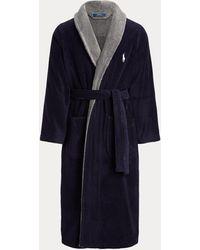 Polo Ralph Lauren Accappatoio in spugna di cotone - Blu