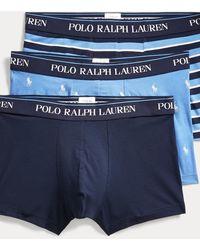 Polo Ralph Lauren 3er-Pack Boxershorts - Blau