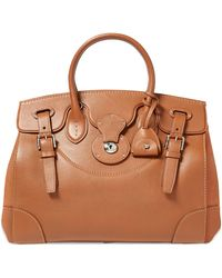 Ralph Lauren Nappa Leather Soft Ricky - Brown