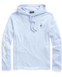 Ralph Lauren - Logo Jersey Hooded T-shirt - Lyst