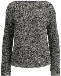 Ralph Lauren - Combed Cotton Boatneck Sweater - Lyst