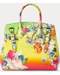 Ralph Lauren Floral Canvas Light Ricky 33 - Yellow