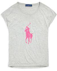Ralph Lauren - Pink Pony Short-sleeve T-shirt - Lyst