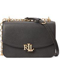 Ralph Lauren - Medium Leather Crossbody Bag - Lyst
