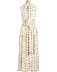 Polo Ralph Lauren Long Sleeveless Dress - Natural