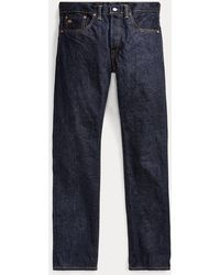 RRL Selvedge-Jeans im Slim-Fit - Blau