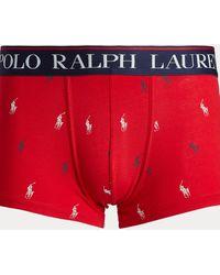 Polo Ralph Lauren Slip-boxer en coton stretch - Rouge