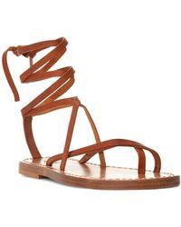 Polo Ralph Lauren - Jordin Leather Sandal - Lyst