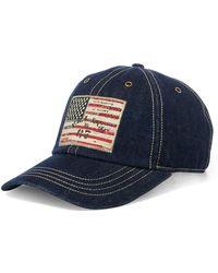Polo Ralph Lauren - Flag Patch Chino Baseball Cap - Lyst