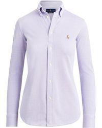 Polo Ralph Lauren Knit Cotton Oxford Shirt - Multicolour