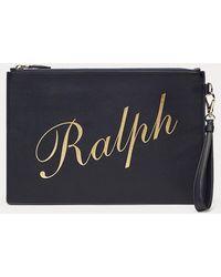 Ralph Lauren - Pochette Ralph en vachette - Lyst