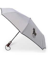 Ralph Lauren Parker Collapsible Umbrella - Black
