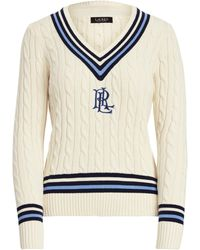 Ralph Lauren Logo Cricket Sweater - Multicolor