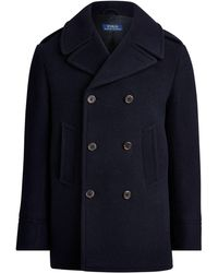 Polo Ralph Lauren Polo-Caban aus Wollmischung - Blau