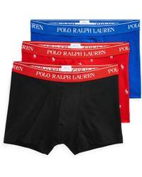 Polo Ralph Lauren Lot de 3 boxers coton stretch - Noir