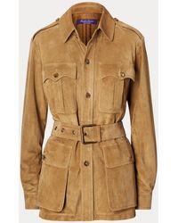 Ralph Lauren The Rl Safari Jacket - Brown