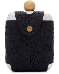 RRL - Tooled Leather Hip Flask - Lyst