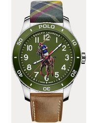 Polo Ralph Lauren Orologio Polo con quadrante verde