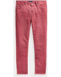 Polo Ralph Lauren Pantalón Elástico De Pana Sullivan - Rojo
