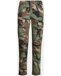 Polo Ralph Lauren Pantalon cargo camouflage - Vert
