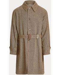 Ralph Lauren Reversible Balmacaan Coat - Brown
