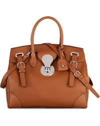 Ralph Lauren Calfskin Ricky 33 - Brown