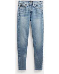 Polo Ralph Lauren Tompkins High-rise Skinny Jeans - Blue