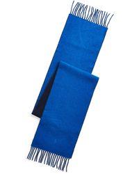 Polo Ralph Lauren Écharpe réversible laine mélangée - Bleu