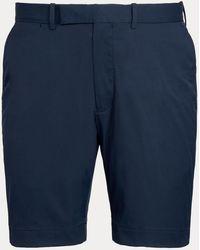 Ralph Lauren Tailored-Fit Performance-Shorts - Blau