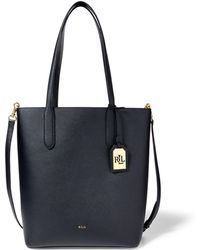 Ralph Lauren | Leather Alexis Tote | Lyst