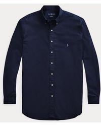Ralph Lauren Camisa Elástica Classic Fit - Azul