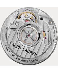 Ralph Lauren Cronómetro De Acero De 45 Mm - Multicolor