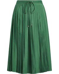 Ralph Lauren - Pleated Crepe Skirt - Lyst