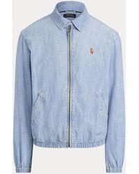 Ralph Lauren Bayport Chambray Jacket - Blue